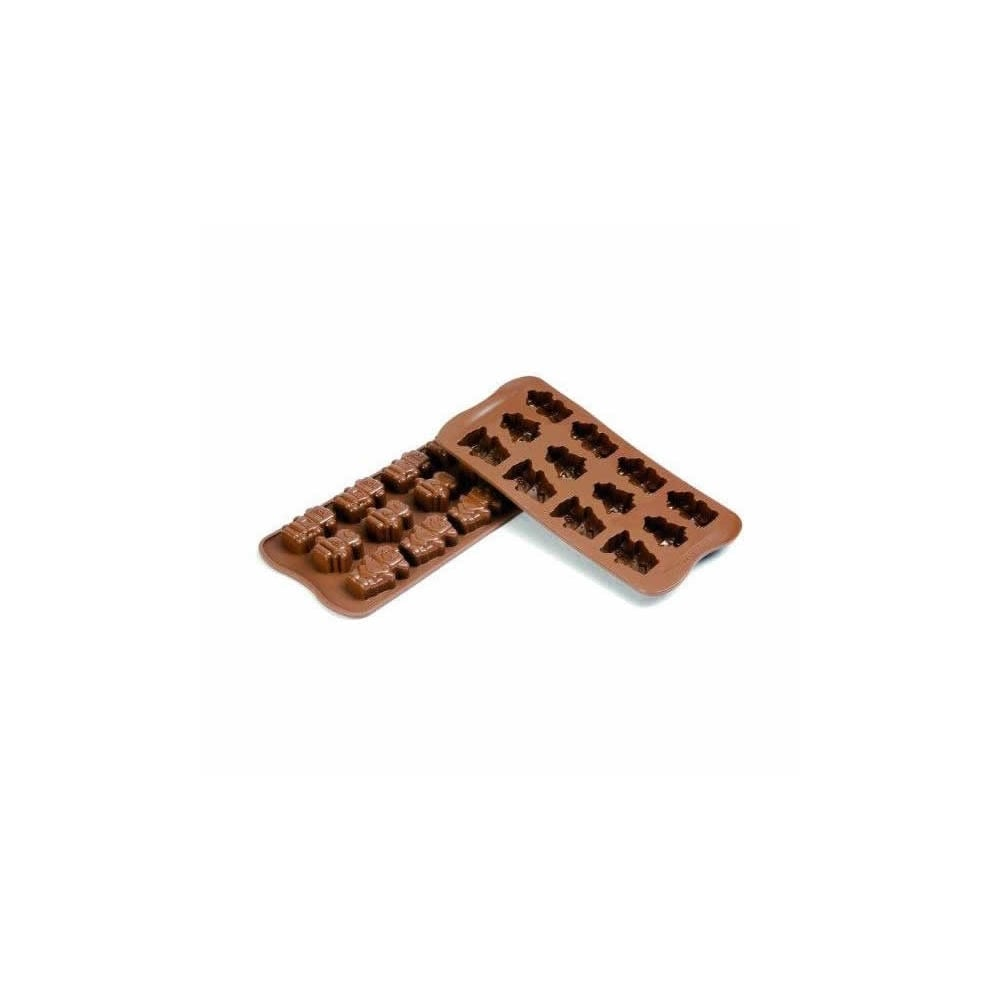 robots chocolate mould robochoc silicone mould by silikomart easy choc