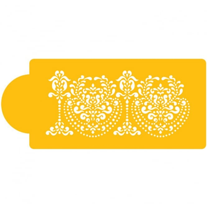 Designer Stencils Rosepoint Lace Side Stencil By