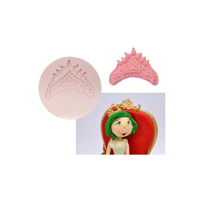 Tal Tsafrir Royal Crown Silicone Mould - Cakes