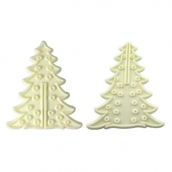 JEM Small 3D Christmas Tree Cutters - Set of 2 - Cutters