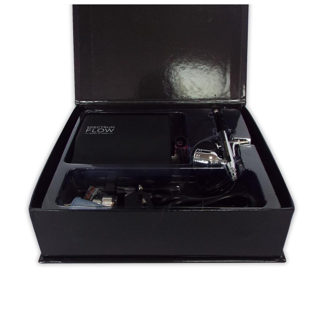 Airbrush Machine Kit BRAND NEW SPECTRUM FLOW Black