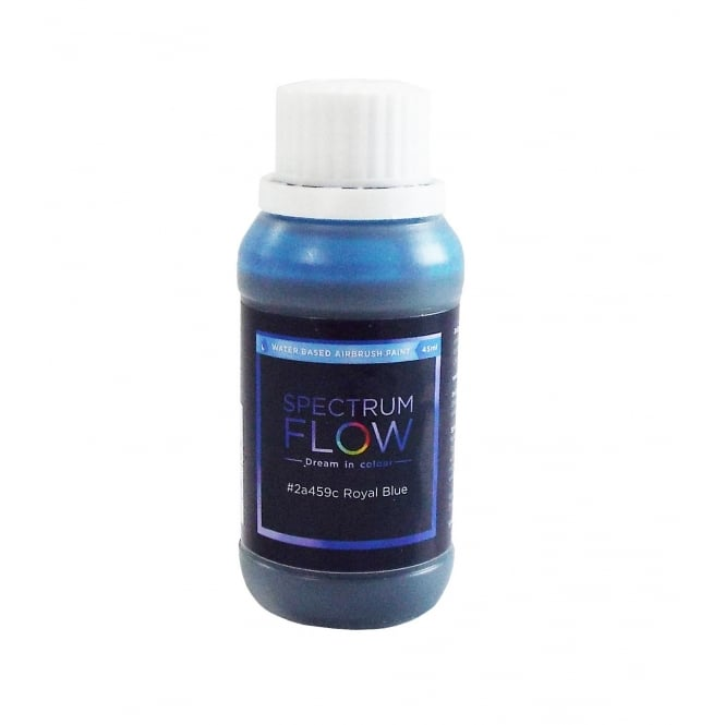 Spectrum Flow Royal Blue - Water Based Airbrush Colour For Sugarpaste