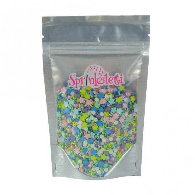 Sprinkletti Flower Power Blend Edible Sprinkles 100g