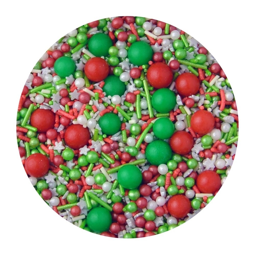 Merry Berry Edible Sprinkles 100g