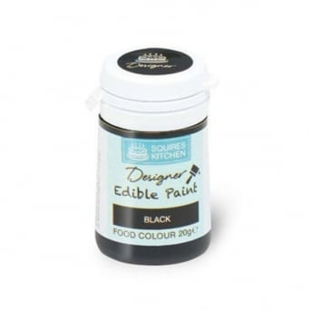 Black – Professional Food Colour Edible Paint 20g