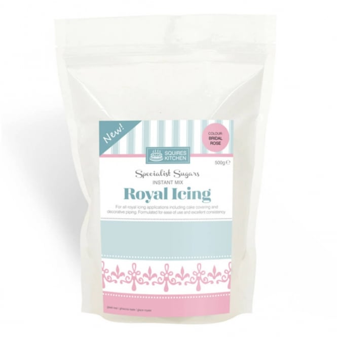 Squires Kitchen Bridal Rose - Royal Icing Mix 500g