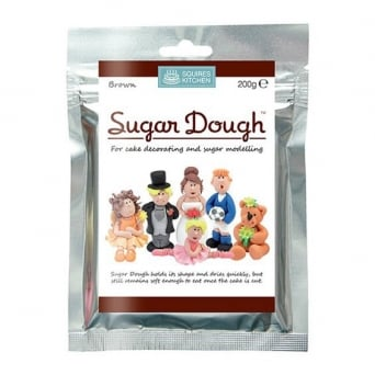 Brown - Sugar Dough Modelling Paste 200