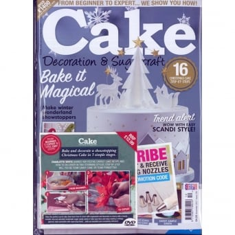 Cakes And Sugarcraft Magazine Issue 133 - April & May 2016