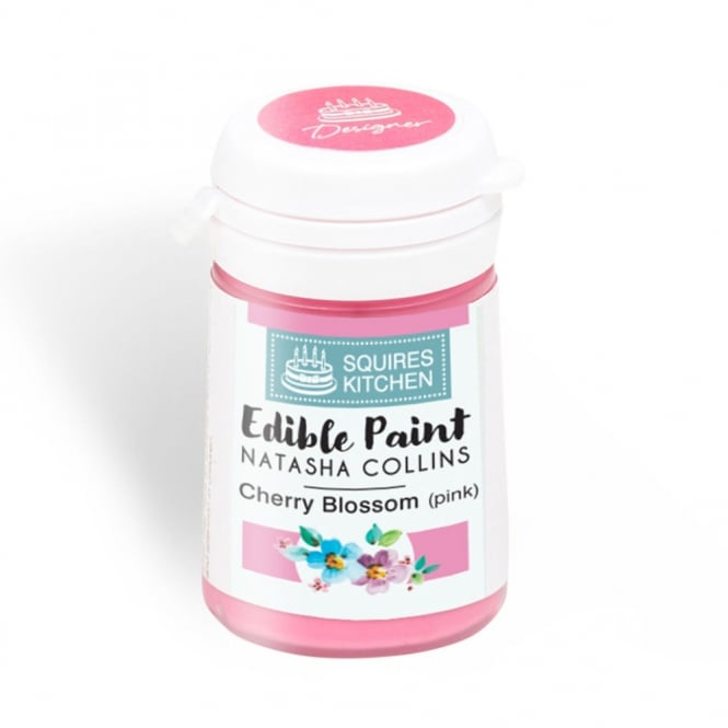 Squires Kitchen Cherry Blossom Pink - Edible Paint Natasha Collins