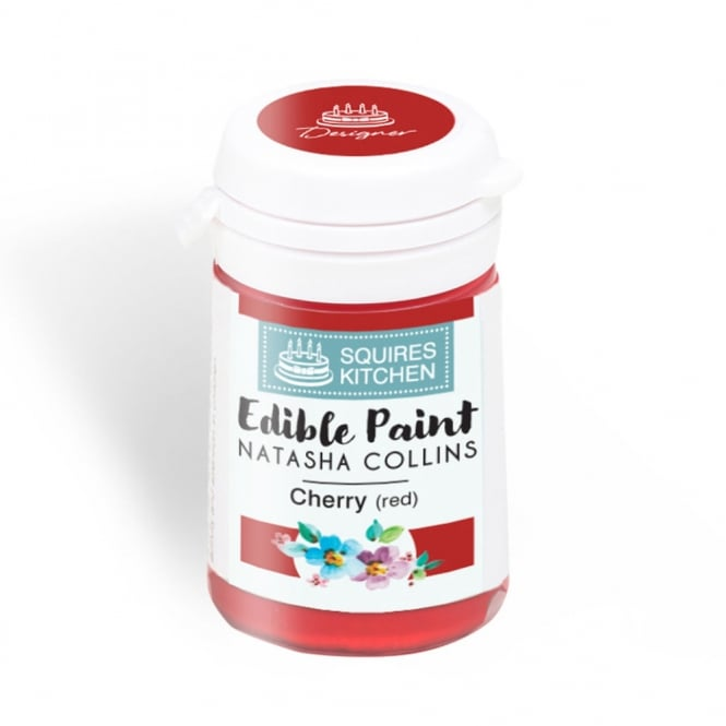 Squires Kitchen Cherry Red – Edible Paint Natasha Collins
