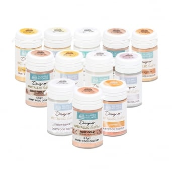 Designer Metallic Lustre Dust - Choose A Colour