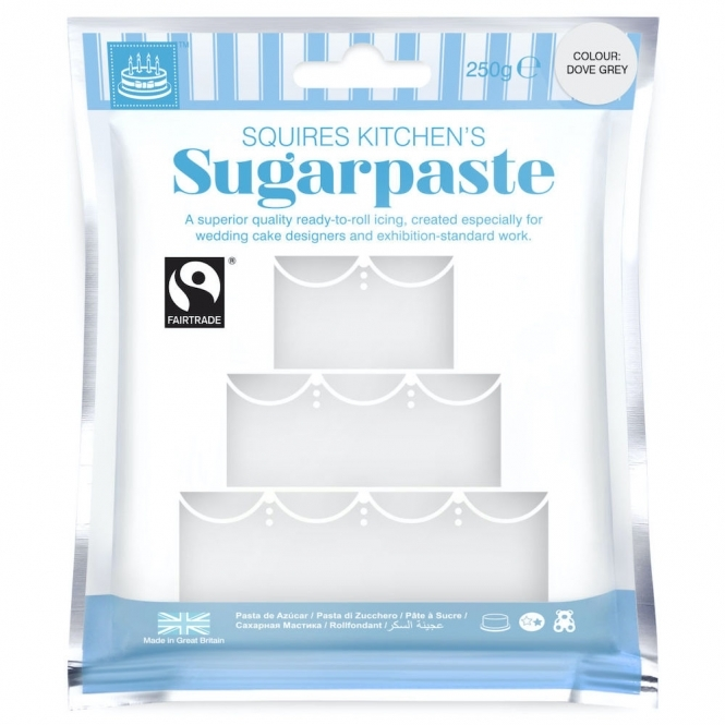 Squires Kitchen Dove Grey – Sugarpaste 250g