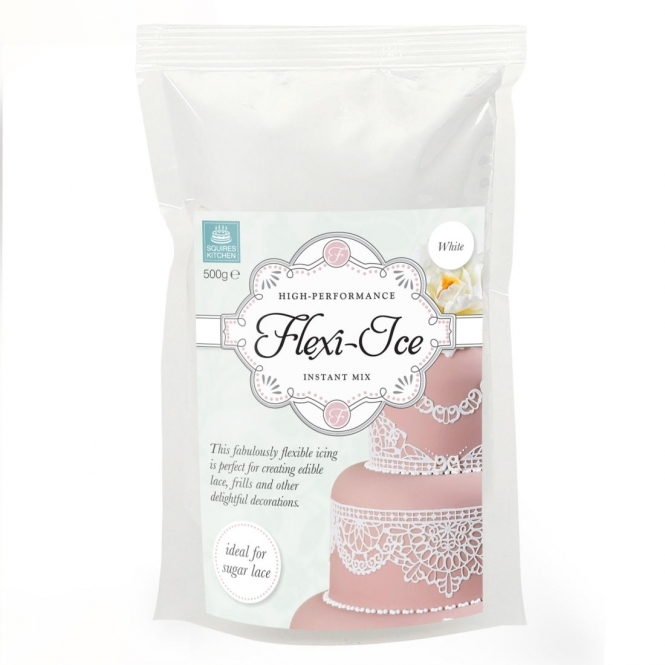 Squires Kitchen  Flexi-Ice White - Instant Lace Mix 500g