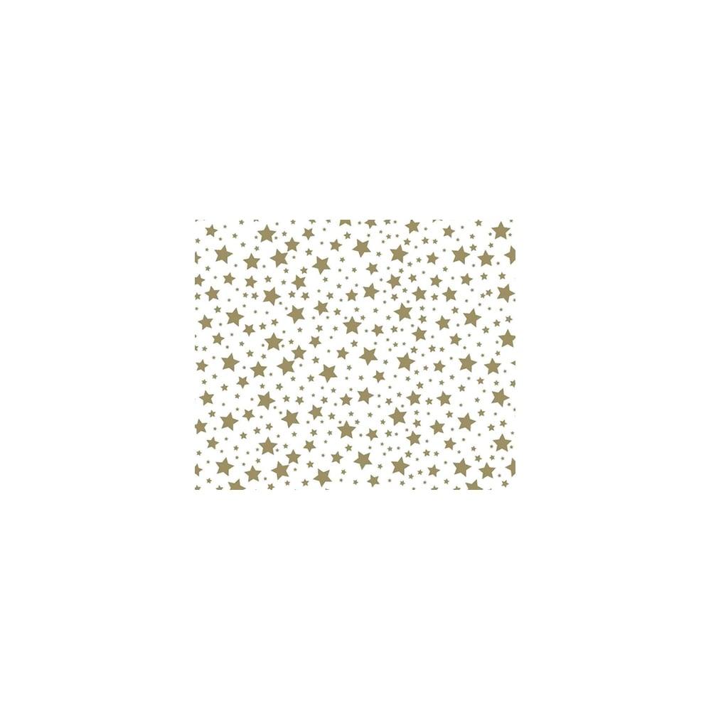 Gold Stars Chocolate Transfer Sheet X2