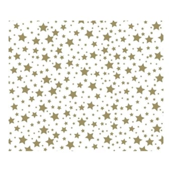 Gold Stars – Chocolate Transfer Sheet x2
