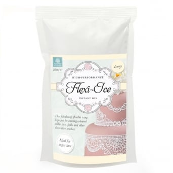 Ivory - Flexi-Ice Instant Lace Mix 250g