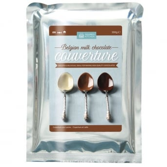 Milk Chocolate - Belgium Couverture 300g