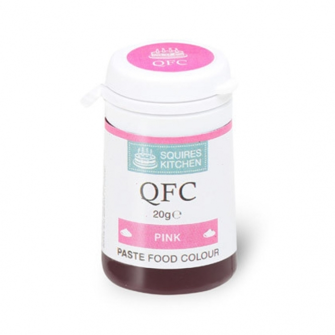 Squires Kitchen Pink - Food Colour Paste 20g