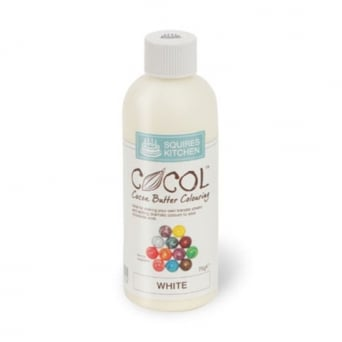 White - COCOL Cocoa Butter Colouring 75g