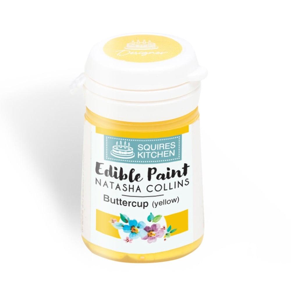 Squires Kitchen Buttercup Yellow Edible Paint Natasha ...
