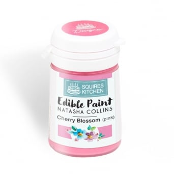 Cherry Blossom Pink Edible Paint Natasha Collins - Squires Kitchen