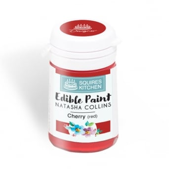 Cherry Red Edible Paint Natasha Collins - Squires Kitchen