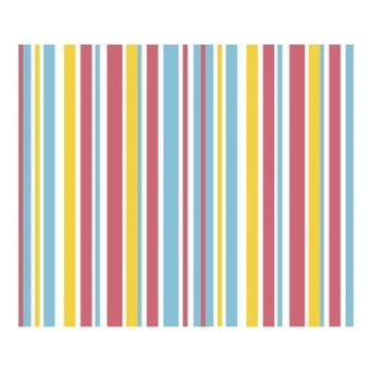 Cocktail Stripe Chocolate Transfer Sheet x2 By Squires Kitchen