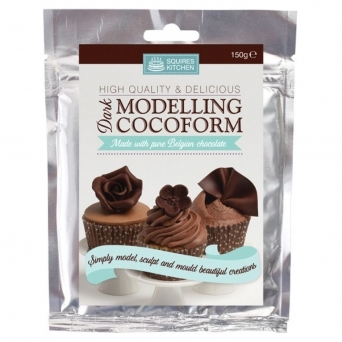Cocoform Dark Modelling Chocolate 150g By Squires Kitchen