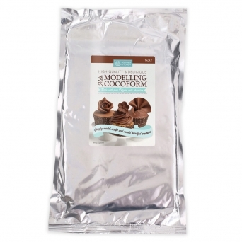 Cocoform Milk Modelling Chocolate 1KG By Squires Kitchen