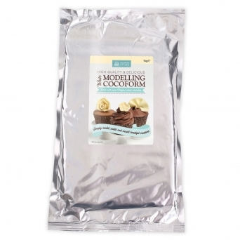 Cocoform White Modelling Chocolate 1KG By Squires Kitchen