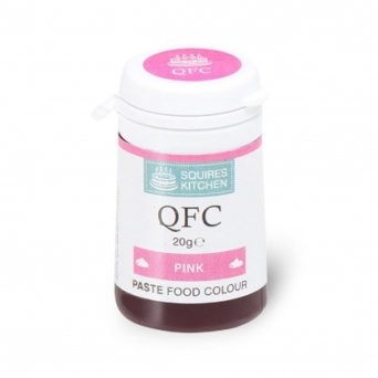 Food Colour Pink Paste 20g By Squires Kitchen