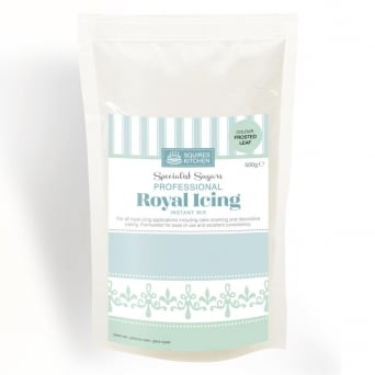 Frosted Leaf Royal Icing Mix 500g By Squires Kitchen