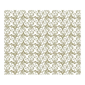Gold Baroque Chocolate Transfer Sheet x2 By Squires Kitchen