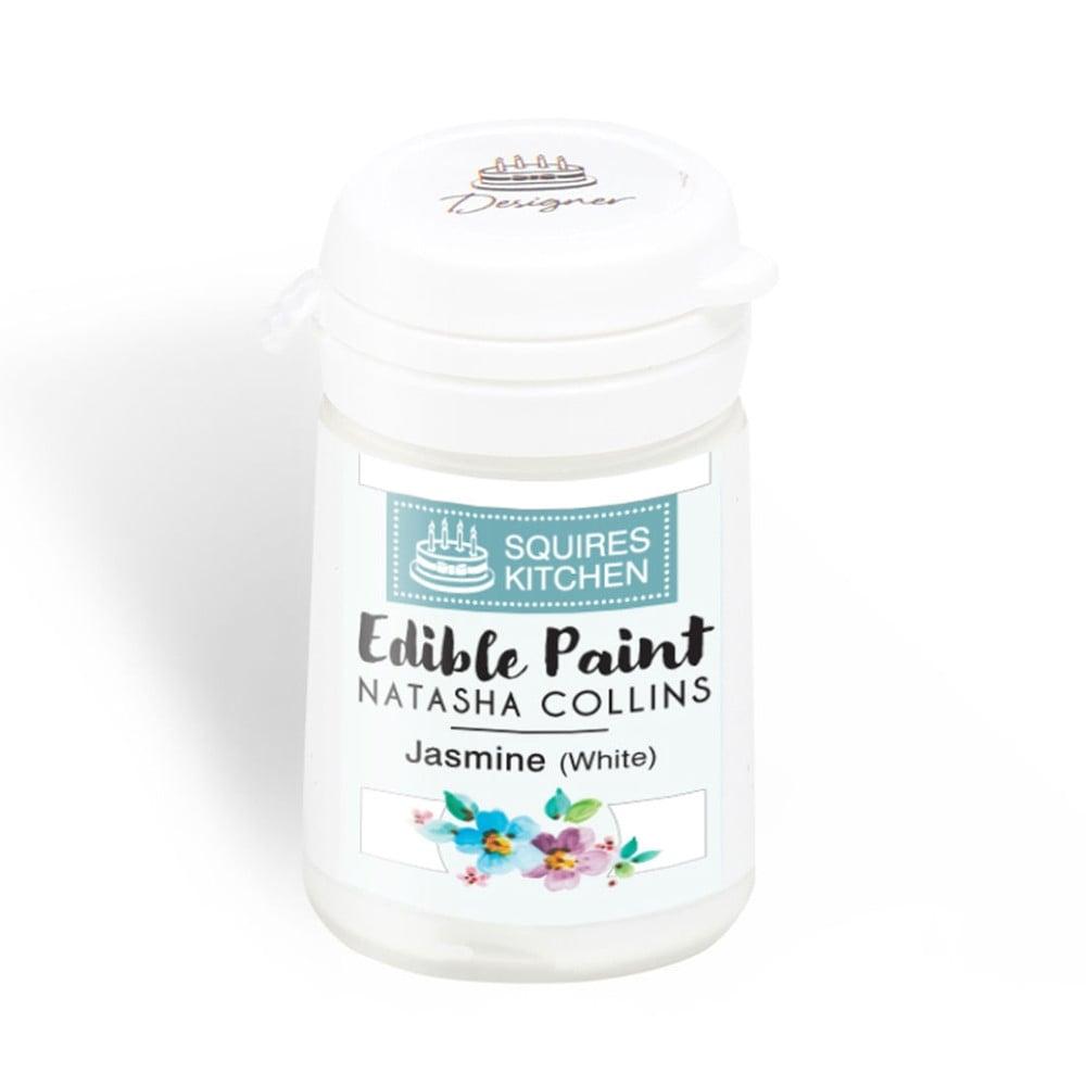 Squires Kitchen Jasmine White Edible Paint Natasha Collins ...