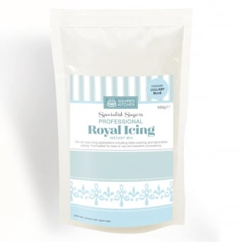 Lullaby Blue Royal Icing Mix 500g By Squires Kitchen