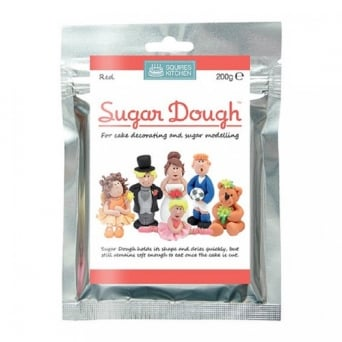 Sugar Dough Modelling Paste 200g - Red