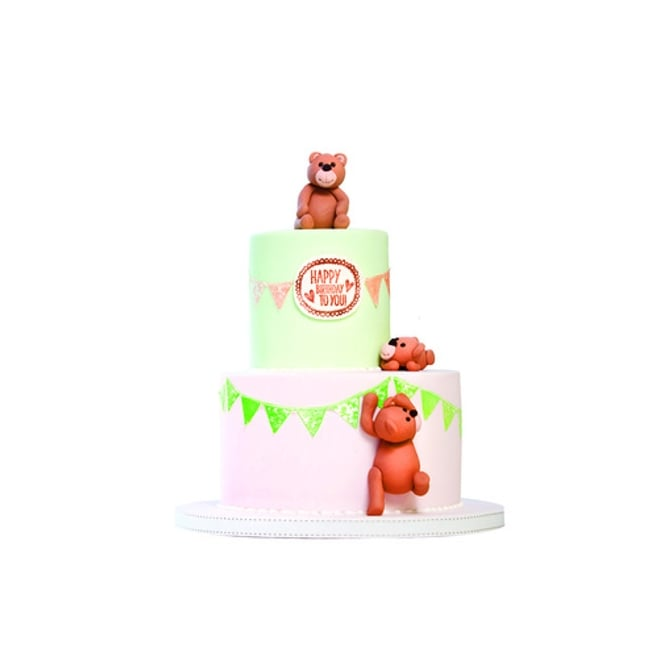 Cake Decorating Company : Stamp-A-Cake Birthday Stamp - Tools & Equipment from The ...