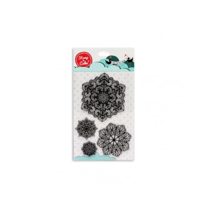 Stamp-A-Cake Doily Lace Stamp