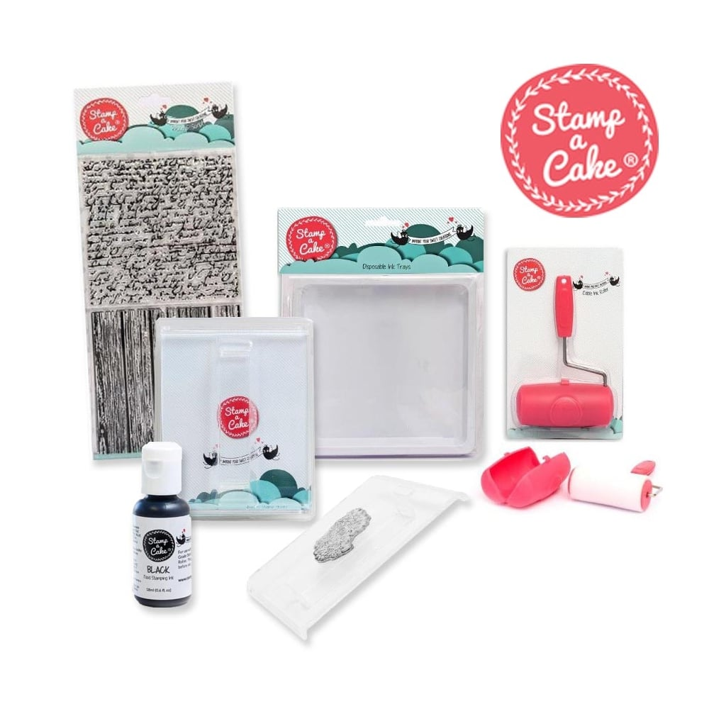 Stamp Starter Kit Cake Decorating Stamp Set