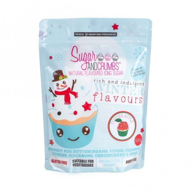 Sugar And Crumbs Toffee Apple - Limited Edition Natural Icing Sugar 500g