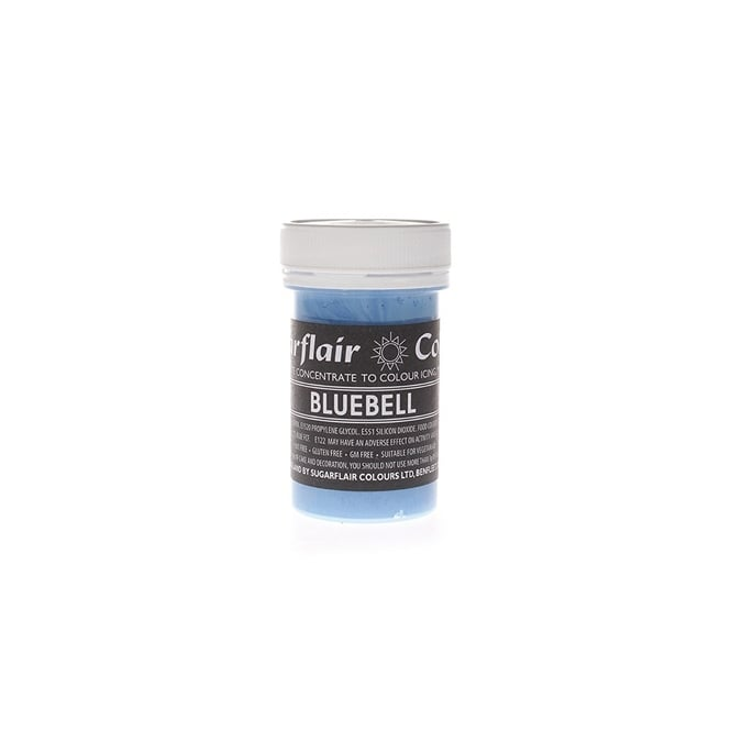 Sugarflair Bluebell - Pastel Paste Concentrate Colouring 25g