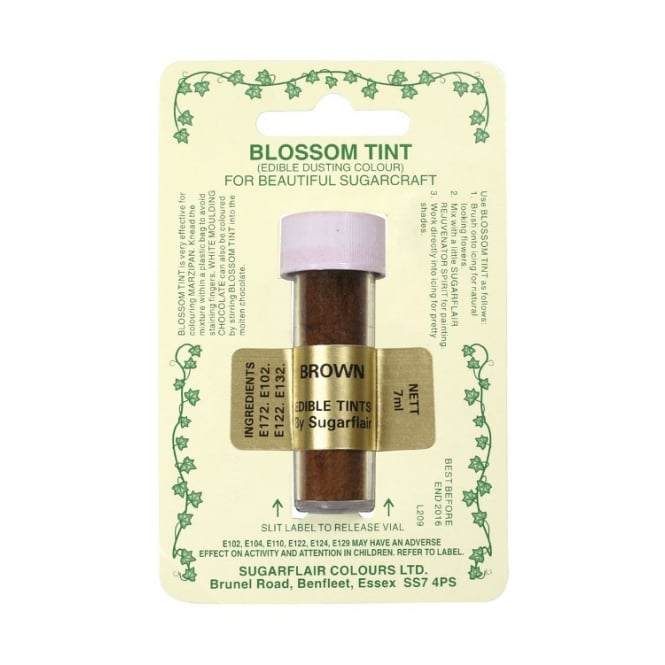 Sugarflair Brown - Blossom Tint Dusting Colour