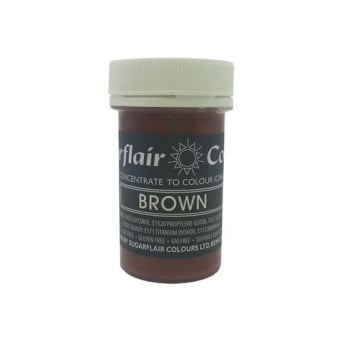 Brown - Pastel Paste Concentrate Colouring 25g