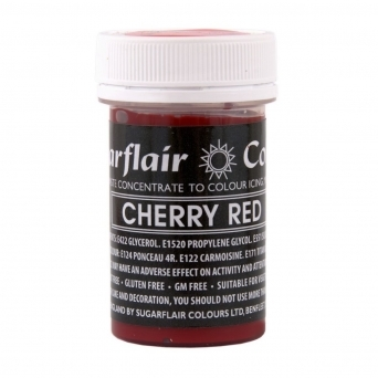 Cherry Red - Pastel Paste Concentrate Colouring 25g