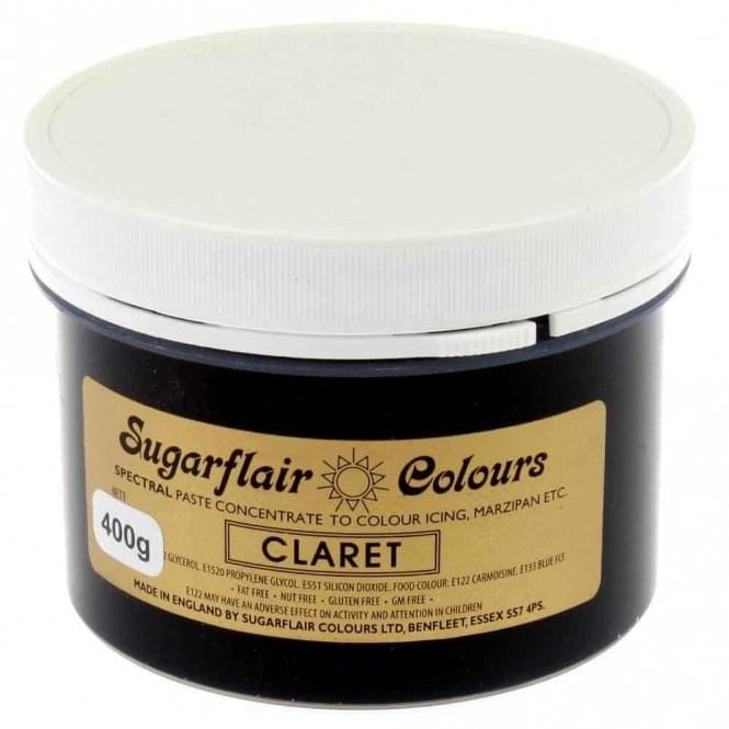 Sugarflair Claret - Spectral Paste Concentrate Colouring 400g