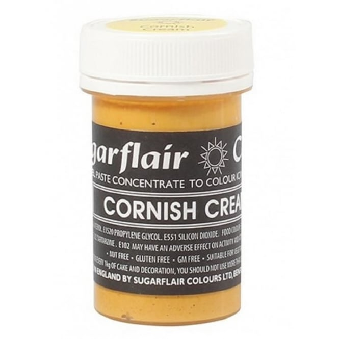 Sugarflair Cornish Cream - Pastel Paste Concentrate Colouring 25g