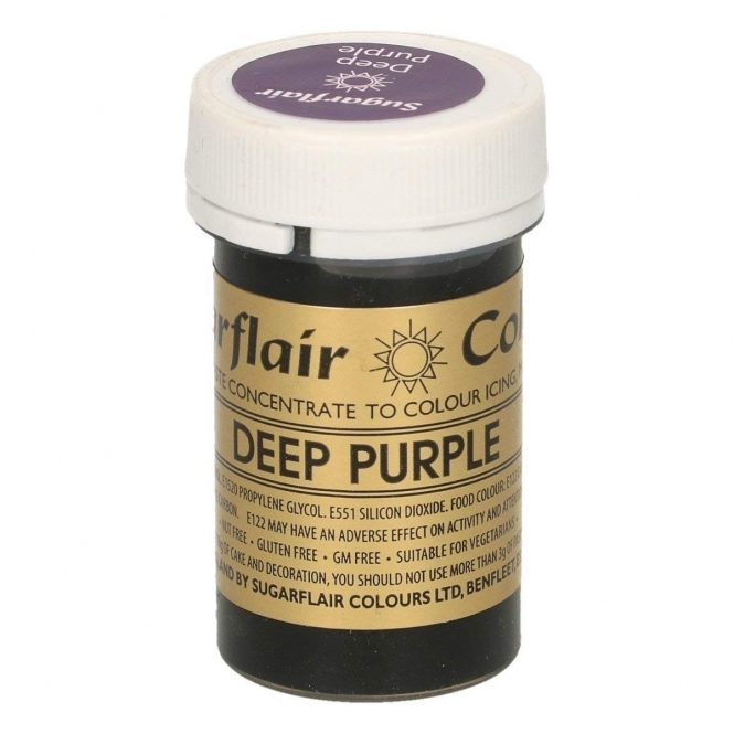 Sugarflair Deep Purple - Spectral Paste Concentrate Colouring 25g