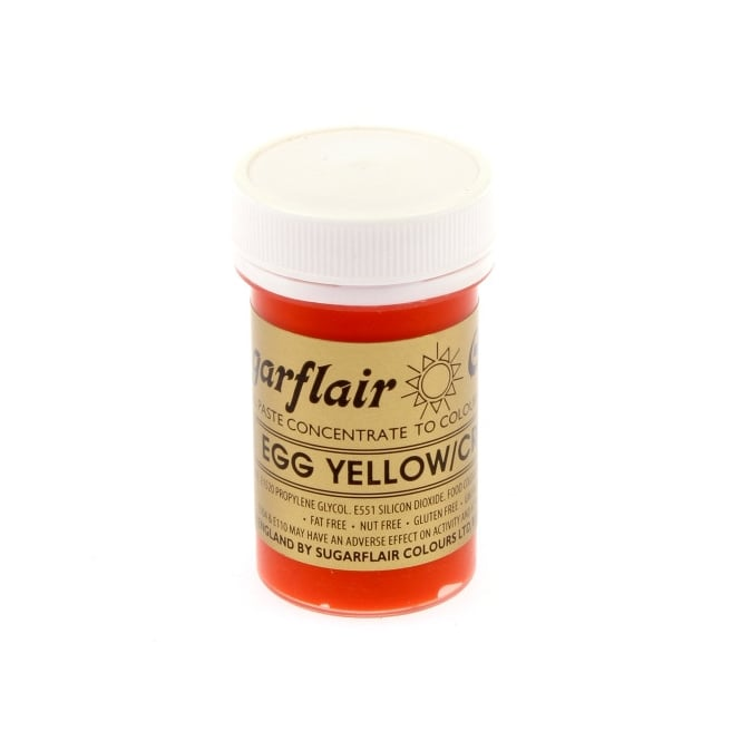 Sugarflair Egg Yellow Cream - Spectral Paste Concentrate Colouring 25g