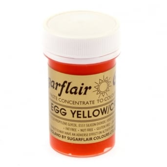 Egg Yellow Cream - Spectral Paste Concentrate Colouring 25g