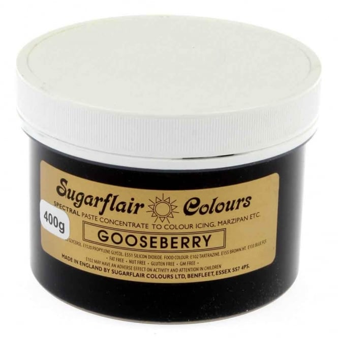 Sugarflair Gooseberry - Spectral Paste Concentrate Colouring 400g